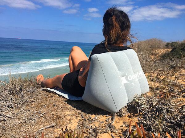 כרית מתנפחת לים
